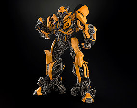 3D printable model Bumblebee with extra Battle mode head