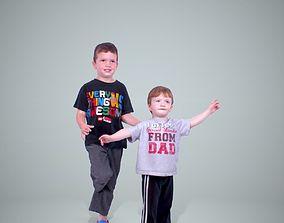 Two Child Boys CBoy0202-HD2-O01P01-S 3D model