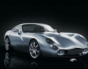 TVR Tuscan 2002 Mid Poly 3D asset