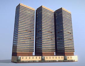 MSK Building 21 3D asset