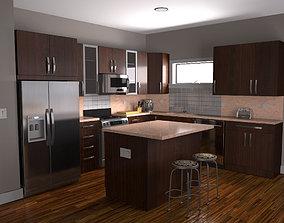 kitchen 3D asset