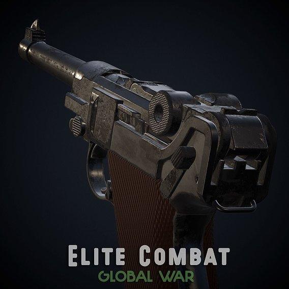 Luger P08 - Elite Combat: Global War
