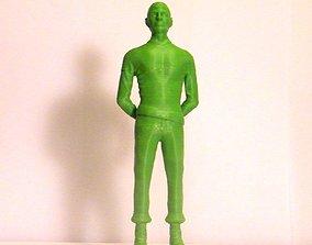 3D printable model Mr spock statue