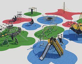 3D model Modern playground