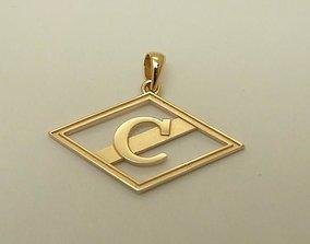 pendants of football club Spartak 3D printable model