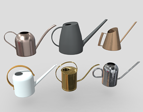 3D asset Watering Can Pack