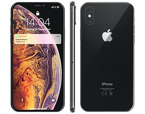 Apple iPhone Xs 3D model