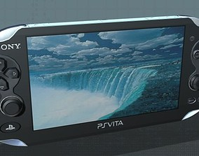 3D model SONY PlayStation Vita - Low Poly