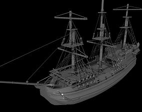 Ship model 3D