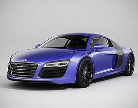 Audi R8 2014 3D model