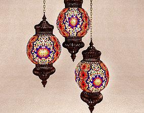 3D Turkish lamp