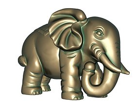 3D printable model Elephants