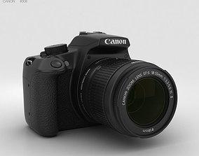 3D Canon EOS Rebel T5
