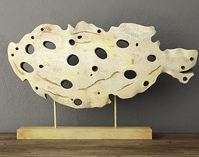 Cutout Fish Decor 3D