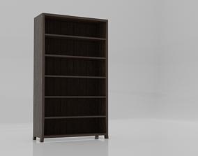 livingroom Bookshelf 3D model VR / AR ready