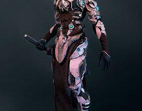 Mech robot highpoly model monster