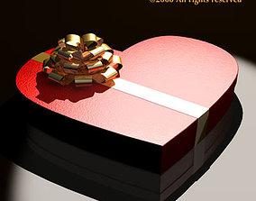 3D Chocolate valentine box