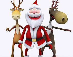 3DRT - Crazy Santa animated