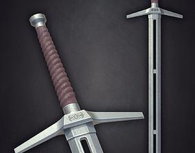 3D model Sword steel