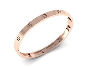 wedding bracelet 3D print model