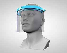 3D print model covid Face protection shield