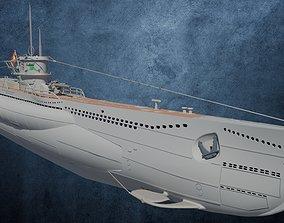 3D model U-Boot TYP VIID