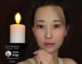 Koko - Asian Female 3D