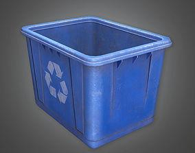 3D asset Recycle Bin TLS - PBR Game Ready