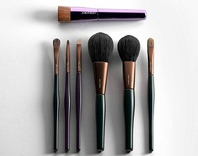 Make Up Brush Set 3D