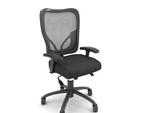 3D model Black Office Chair