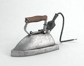 3D model Old iron household