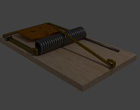 Mousetrap 3D asset