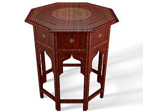 furniture 3D Moroccan Table