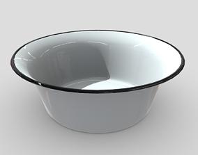 3D model Enamel Bowl 1