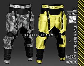 pants cp 3D PBR