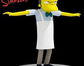 3D model Moe Szyslak