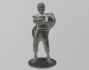 Kazekage Gaara from Naruto 3D print model