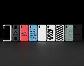 nike iPhone XR Many Designs 3D Printable Cases