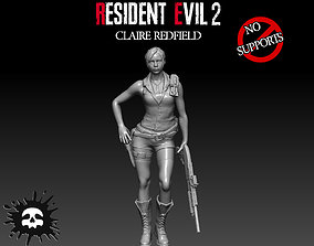 Resident Evil 2 Claire Redfield 3D print model