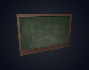 3D asset School Board