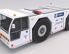 3D asset Airbus Towing Tractor