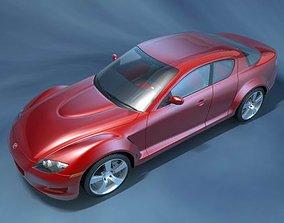 3D model Mazda RX8 2006