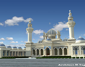 other MOSQUE 3D model animated