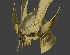 3D print model Emperor Shao Kahn helmet from Mortal 3
