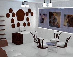 3D model LTS Office Interior Setting