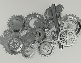 3D mechanical Gear mechanism