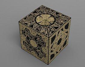 Hellraiser puzzle box lament configuration 3D asset