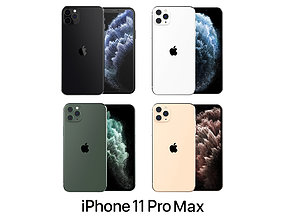 Apple iPhone 11 Pro Max Collection 3D
