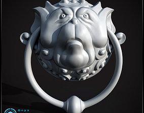 Labyrinth inspired Door knockers 3D print model