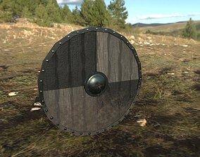 3D asset Viking Shield PBR